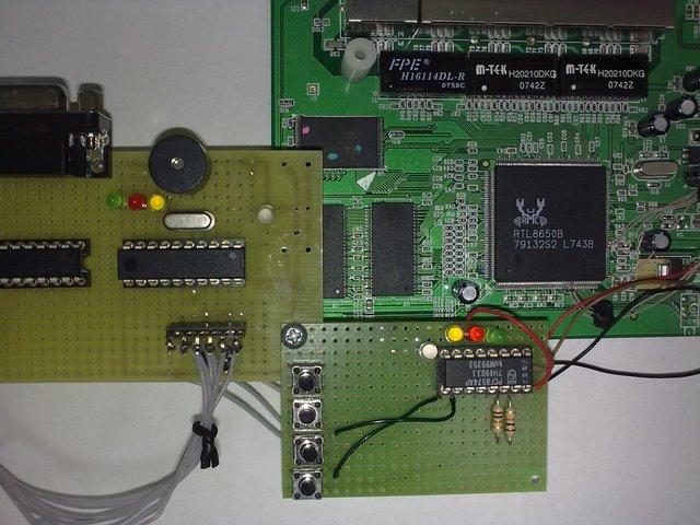 Демонстрационная плата FlyAVR и I2C устройства